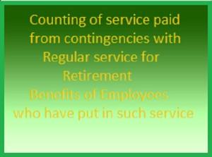 Railway Retirement Benefit