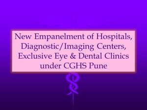 CGHS Pune