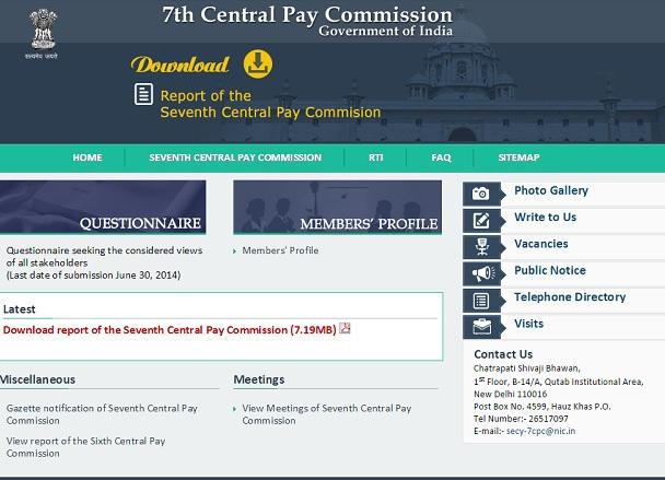 7th CPC Report