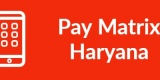 Pay Matrix Haryana-Min