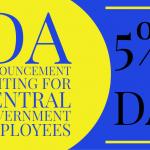5% DA from July 2019