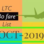 Ltc 80 fare list from October 2019