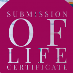 life certificate for Pensioners