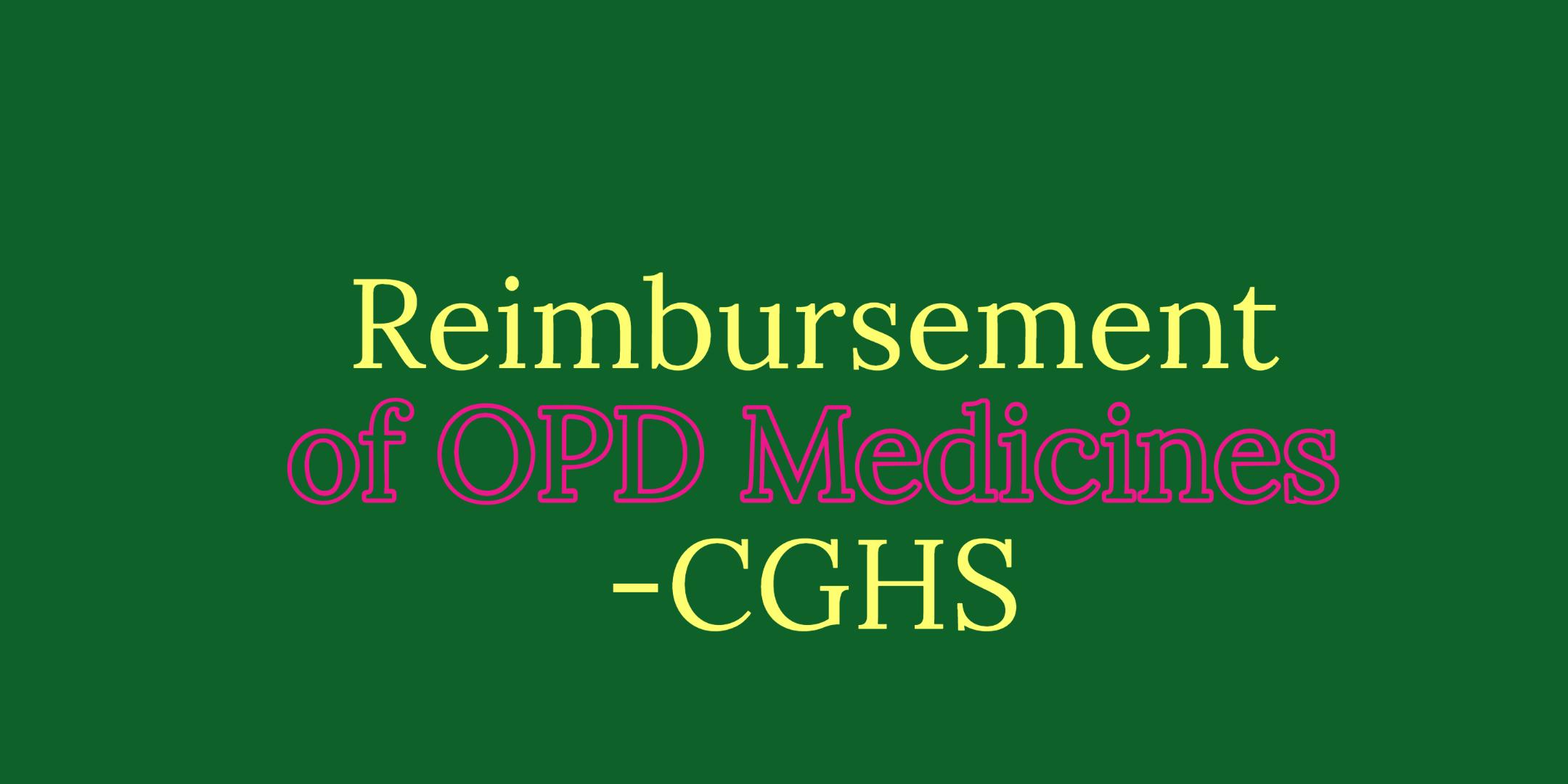 CGHS Medicines