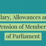 Salary, Allowances and Pension Reduced by 30/-