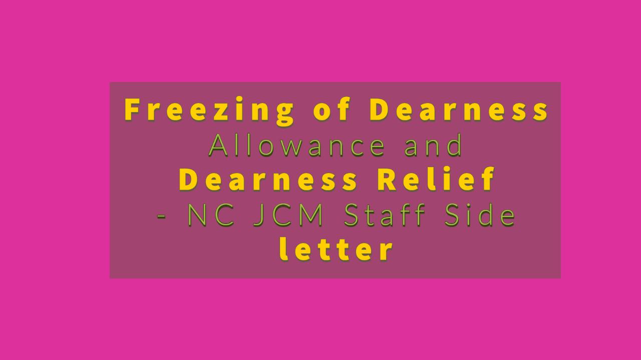NCJCM staff Side letter - Freezing DA and DR