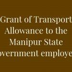 Manipur - Transport Allowance