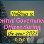 Holiday list 2021