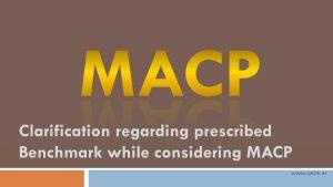 MACP Railway