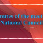 Minutes of the meeting with Staff Side, National Council