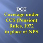 CCS (Pension) Rules 1972 in NPS