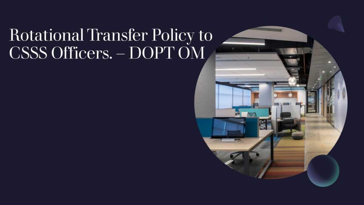 Rotational Transfer Policy