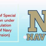 Grant of Special Pension under Regulation 95 of Navy (Pension)