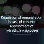 Contract appointment of retired CG employees