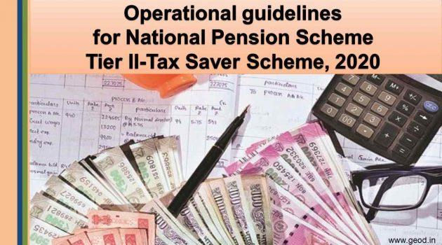 NPS Tier-II tax saver scheme 2020
