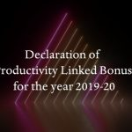 Productivity Linked Bonus for the year 2019-20