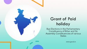 Grant of Paid holiday DOPT Order
