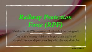 Railway Protection Force (RPF) PIB