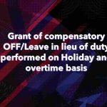 Holiday and Overtime basis