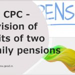 7th CPC Two family Pension