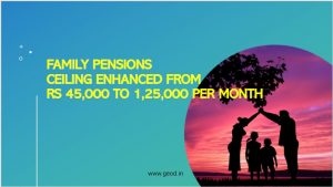 Family pensions ceiling